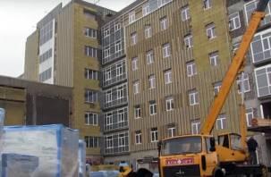 Счётная палата РФ обратила внимание на срыв сроков строительства перинатального центра в Смоленске