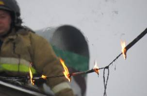 В Смоленске из-за короткого замыкания едва не загорелся дом