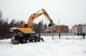 Строительство в лесопитомнике Смоленска оказалось вне закона