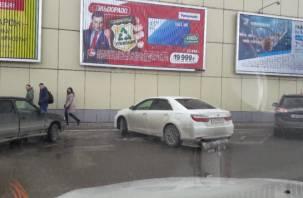 «Гуру парковки». Смоленский водитель «превратился» в инвалида