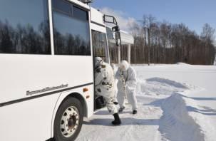 В Смоленской области учились обезвреживать террористов