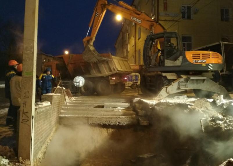 В Смоленске продолжает замерзать часть Заднепровского района города
