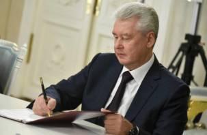 Мэр Москвы подписал документ о передаче Смоленску 20 трамваев