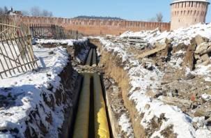 Центр Смоленска останется без тепла и горячей воды