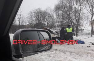 Смертельная авария случилась на трассе М-1 в Смоленске