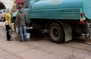 В Смоленске пять жилых домов отключат от холодной воды