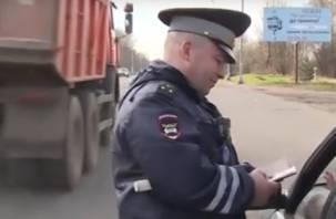 В Смоленске начались сплошные проверки водителей
