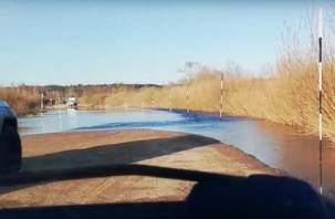 «Потоп» по-смоленски попал на видео