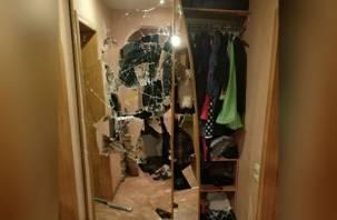 Ревнивый смолянин разгромил квартиру своей сожительницы