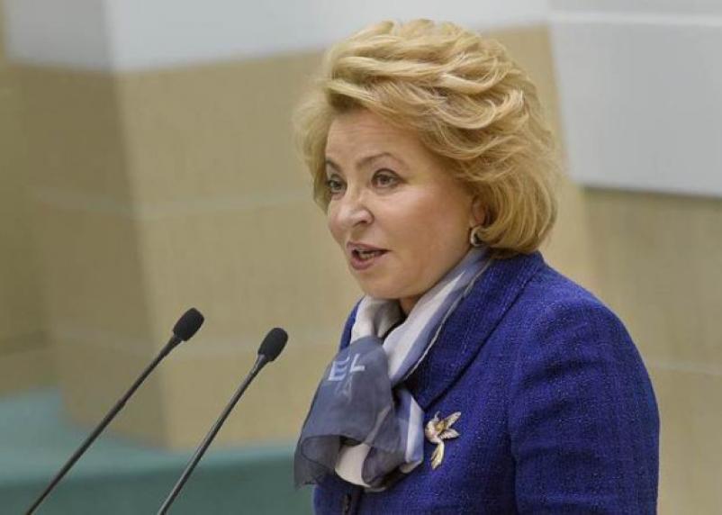 Валентина Матвиенко раскритиковала строительство детской больницы в Смоленске