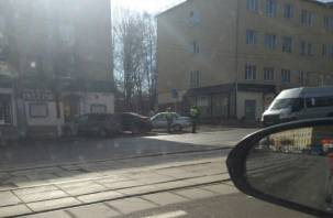 Коллапс в центре: Матвиенко и Мединский привезли пробки в Смоленск