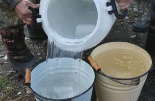 На Краснинском шоссе в Смоленске отключат воду