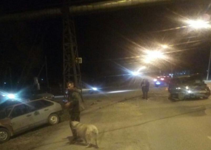 «Бог дрифта»: на Витебском шоссе произошло серьезное лобовое ДТП