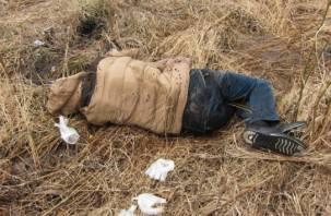 В смоленской деревне нашли тело мертвого парня