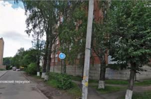 Завтра проехать по Чуриловскому переулку в Смоленске будет невозможно