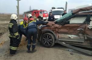 Двое смолян погибли в жесткой аварии с фурой в Тульской области