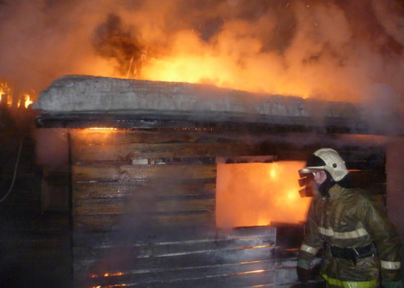При пожаре в «Смоленском Поозерье» пострадал человек