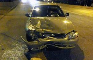 Смолянка пострадала при столкновении двух иномарок