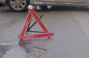 В Смоленске автоледи сбила пешехода прямо на тротуаре