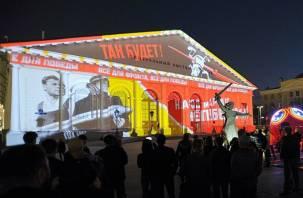 Световое шоу на «Манеже»: в столице покажут военный Смоленск