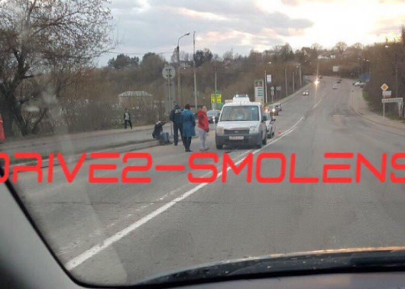 В Смоленске пешеход попал под колеса иномарки