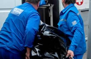 В Смоленске на улице прохожие нашли труп мужчины