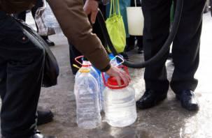 На нескольких улицах Заднепровья в Смоленске не будет холодной воды