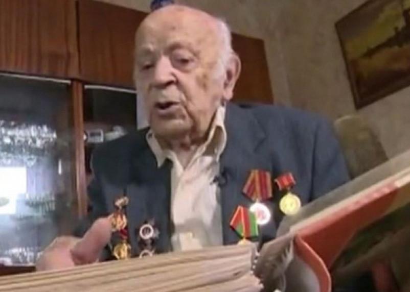 Освободитель Смоленска: о 102-летнем разведчике рассказали на федеральном канале