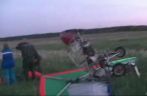 В Смоленской области пилот разбился при падении дельталета