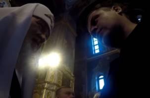 «Секретное» видео: патриарх Кирилл благословил жителя Кемерова, потерявшего всю семью на пожаре в «Зимней вишне»