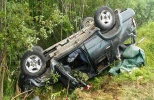 «Погиб на месте». На Смоленщине водитель внедорожника попал в смертельное ДТП