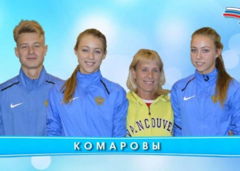 Смоленская семья Комаровых отлично выступила на Кубке России по многоборьям