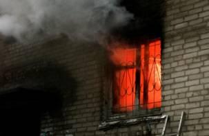 Подробности смоленского пожара, в котором пострадал ребенок