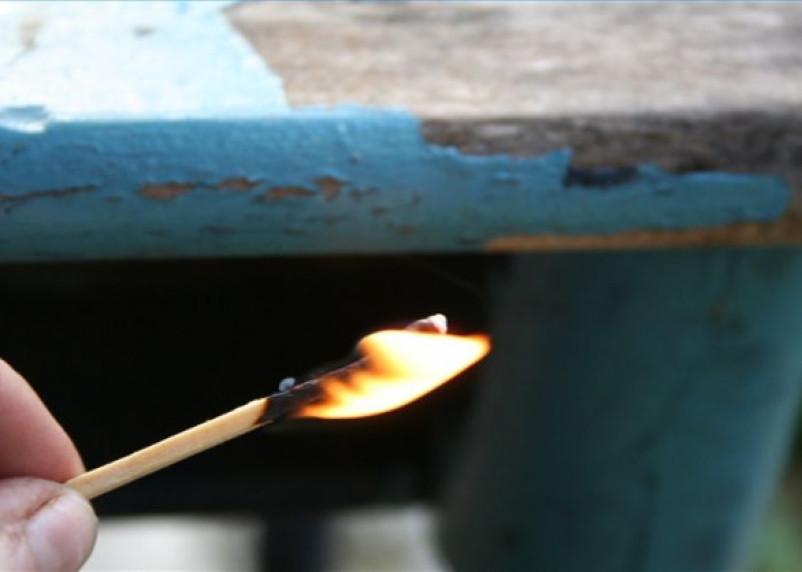 Ревнивая смолянка отомстила возлюбленному и сожгла его дом