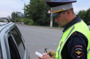 Около трех десятков пьяных водителей были пойманы на смоленских дорогах