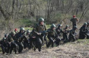 Под Смоленском соревновались спецназовцы за право ношения крапового берета