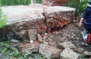В Смоленске на ребенка обрушилась кирпичная стена