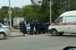 «Кто виновен?» В Смоленске произошла авария с участием машины ДПС
