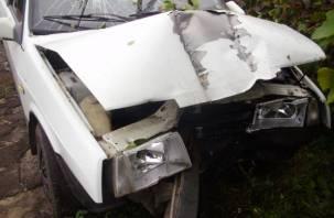 В Смоленской области в серьезной аварии пострадал ребенок