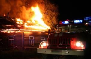 В Смоленской области человек едва не погиб при пожаре