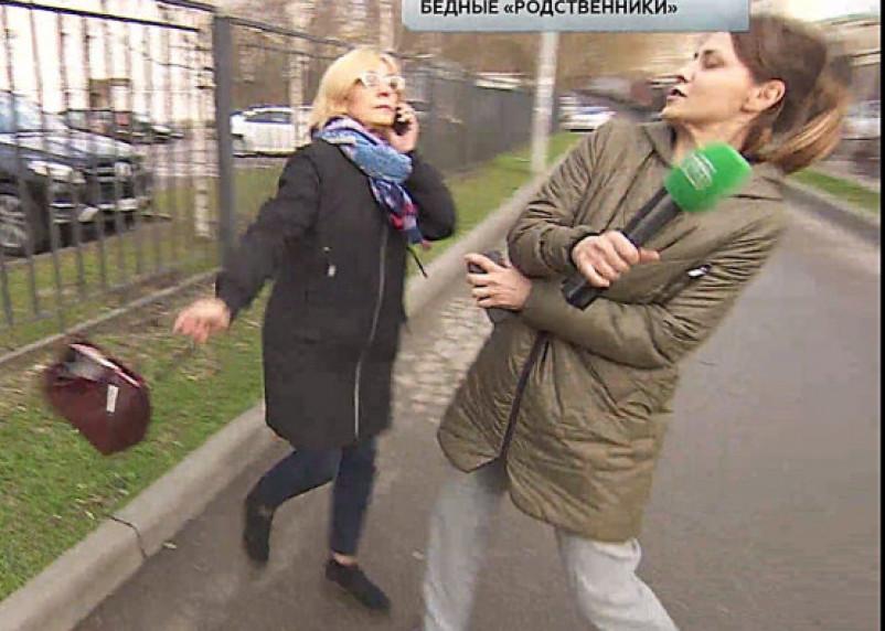 «Бывшая любовница» Муслима Магомаева из Сафонова ударила сумкой корреспондента федерального канала