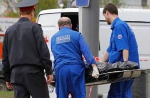 В Смоленске мужчина умер в торговом зале алкомаркета