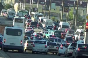 В Смоленске устроили транспортный коллапс ради проведения марафона