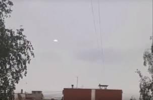 Житель Смоленска снял на видео НЛО