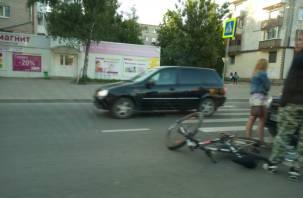 Подробности аварии с велосипедистом в Смоленске