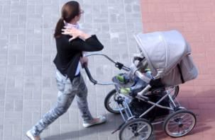В Смоленской области на коляску с малышом рухнули стекла
