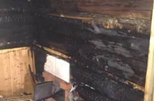В «Смоленском Поозерье» попарились в бане с огоньком