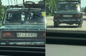 В Кардымове появился «новый ГОСТ» автомобильных номеров
