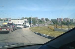 Утренний «стояк» начался в Смоленске из-за аварии