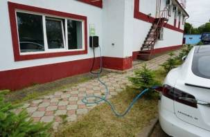 На Смоленщине появились бесплатные зарядные станции для электромобилей